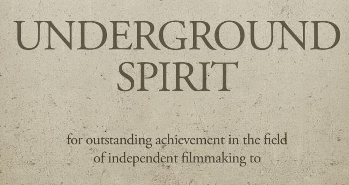 Underground Spirit Award