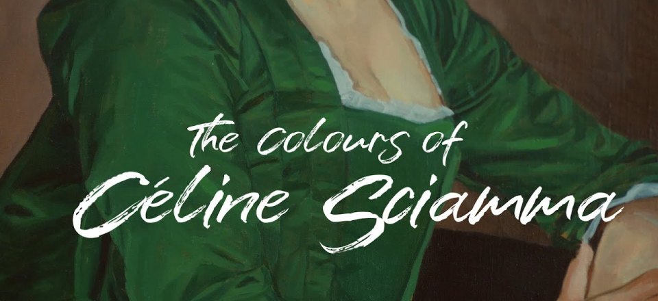 THE COLOURS OF CÉLINE SCIAMMA