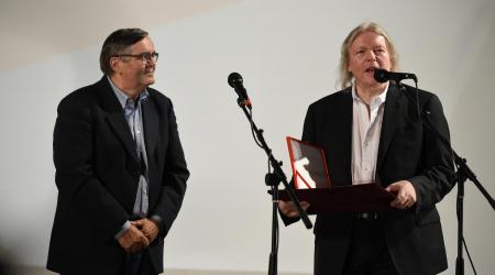 Alexander Lifka Award laureate Christopher Hampton won the Academy Award for Best Adapted Screenplay