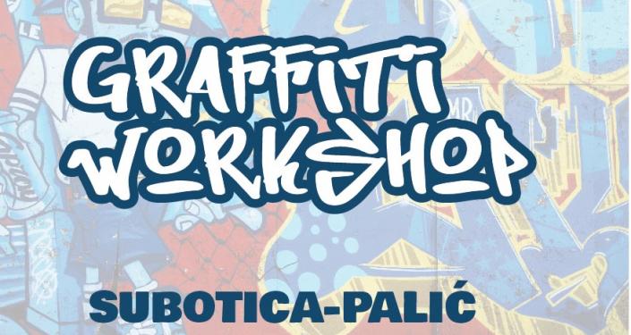 Radionica kreiranja grafita na Festivalu evropskog filma Palić u okviru prekograničnog projekta Panona net