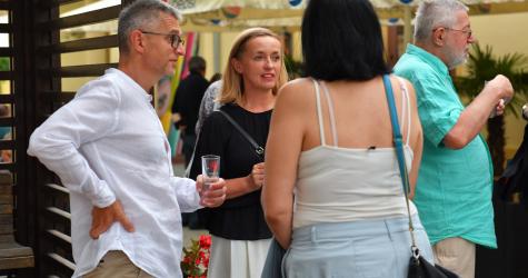 Slovenia reception - 18th July